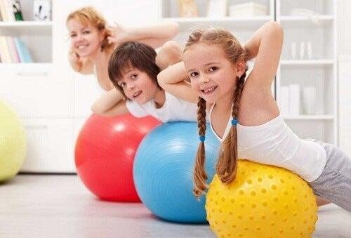 Esercizio fisico per il bambino: quello che c'è da sapere