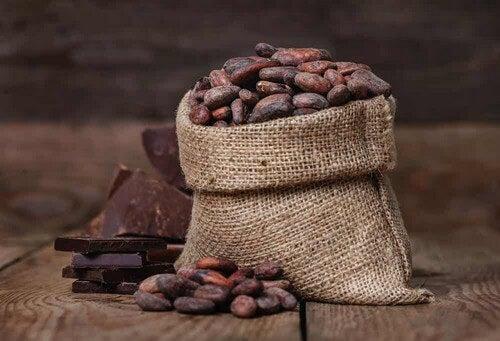 Fava di cacao tradizionale.