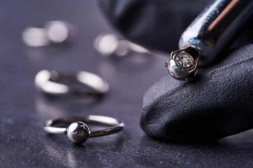 Piercing gioiello.