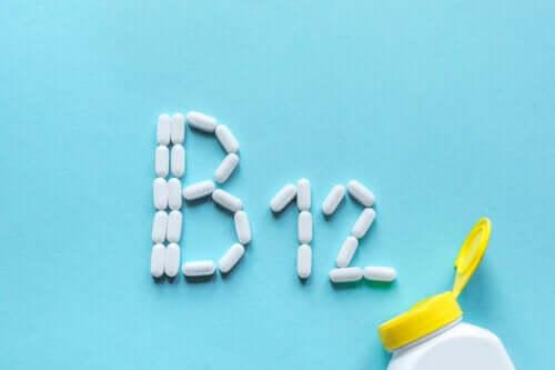 Integratori di vitamina B12 nella dieta vegana