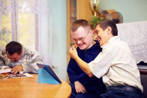 Persone disabili.