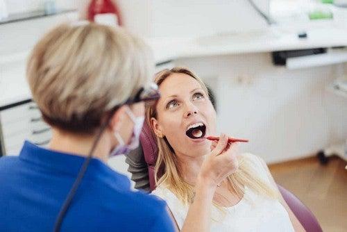 Visita dal dentista.