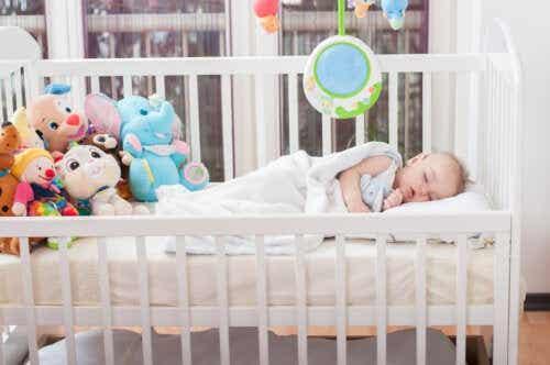 Regressione del sonno: quando il bambino non dorme bene
